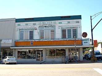 National Register of Historic Places listings in Etowah County, Alabama - Image: Walker's Drug Store building Attalla Oct 2014