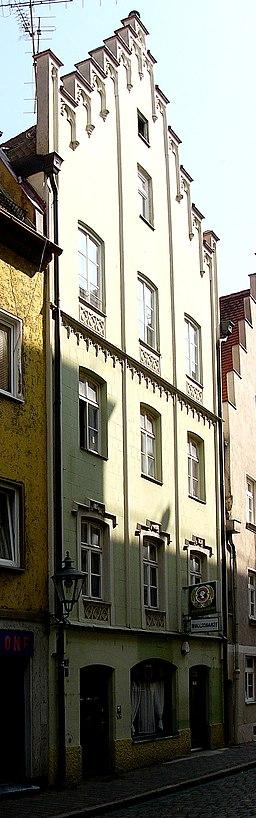 Wallstraße in Augsburg