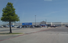 A Walmart Supercenter in North Richland Hills, Texas that opened in 1991.