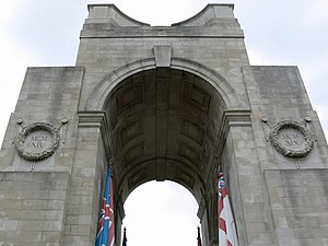 Arch of Remembrance - Detail of vaults
