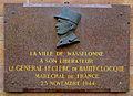 Wasselonne plaque commémorative Leclerc.jpg