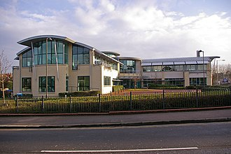 SES Water - The company headquarters on London Road, Redhill