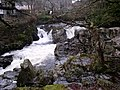 Waterfall on the river Llugwy at Betws-y-Coed - geograph.org.uk - 1579534.jpg