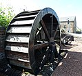 Waterwheel feature, New Cumnock, East Ayrshire, Scotland.jpg