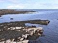 Wave-cut platform at Pollnadivva - geograph.org.uk - 1852272.jpg