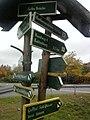 Wegweiser in Bad Frankenhausen (Barbarossa-Hoehle 5,8 km).jpg