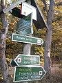 Wegweiser zwischen Kelbra und Kyffhaeuser (Kyffhaeuser-Denkmal 5,1 km).jpg