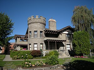 Wenatchee Valley College - Image: Wenatchee, WA Wells House 04