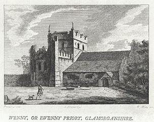 Wenny, or, Ewenny Priory, Glamorganshire