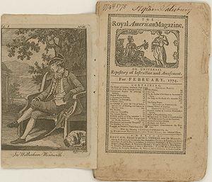 Royal American Magazine - Royal American Magazine February 1774