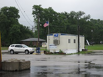 West Alton, Missouri - Post office in West Alton, May 2012