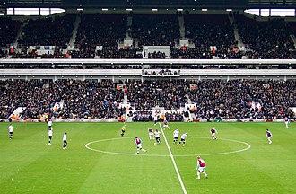 Millwall F.C.–West Ham United F.C. rivalry - Image: West Ham against Millwall it kicks off at the Boleyn Ground