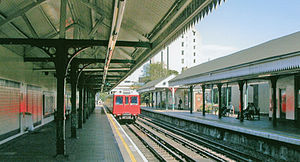 West Kensington tube station - Image: West Kensington Station geograph 4066742 by Ben Brooksbank