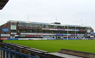 Athletics at the 1958 British Empire and Commonwealth Games - The now-modernised Cardiff Arms Park.