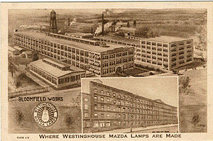 Westinghouse Lamp Plant Wikipedia