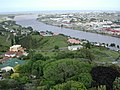 Whanganui River towards sea from Durie Hill.jpg