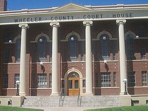 Wheeler County, Texas - Image: Wheeler County, TX, Courthouse IMG 6128