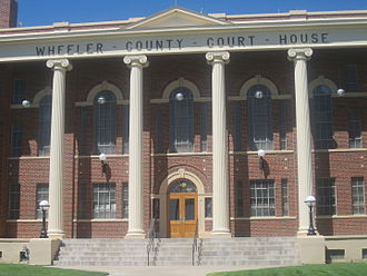 Wheeler County, Texas - Image: Wheeler County, TX, Courthouse IMG 6128
