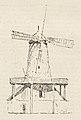 Wiatrak holenderski przy ul. Zgoda, rozebrany w 1885 r. (61954).jpg