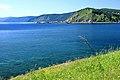 Widok z Listwianki na jezioro Bajkał 13.JPG