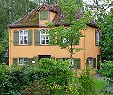 Das Wieland-Gartenhaus in Biberach an der Riß (Quelle: Wikimedia)