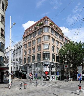 3e5f5c95a0dc53 Wohn- u. Geschäftshaus  Ecke Neubaugasse 2   Mariahilfer Straße 68