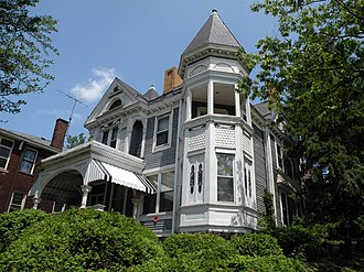 Carrick (Pittsburgh) - Wigman House, built in 1888, on Brownsville Road in Carrick