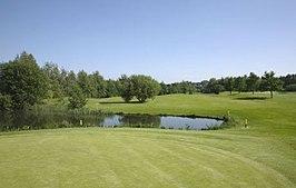 De golfbaan in de Berendock