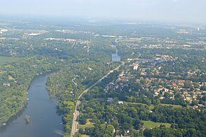 Scioto River - Scioto River in Columbus, Ohio