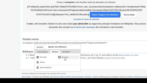 Fichier:WikiMOOC - vidéo 13 - Présenter ses sources.webm