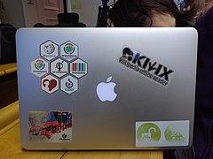 WikidataZH laptop Flor.jpg