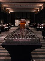 Wikimania 2015-Thursday-Food for hungry Hackathon people (1).jpg