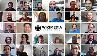Wikimedia Hackaton 2020 group photo.jpg