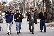 Wikipedians strolling througth New York.jpg
