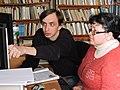 Wikiworkshop in Vovchansk 2018-11-03 by Наталія Ластовець 40.jpg