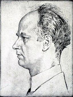 Wilhelm Furtwängler by Emil Orlik