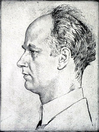Wilhelm Furtwängler - 1928 portrait of Wilhelm Furtwängler by Emil Orlik