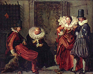 Capotain - Image: Willem Pietersz. Buytewech 003