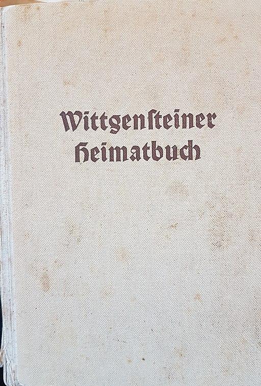 Wittgensteiner Heimatbuch 1938