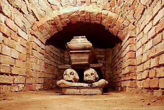 Crypt - A crypt in Wola Gułowska, Lublin Province, Poland