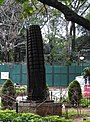 Wood corn art-1-cubbon park-bangalore-India.jpg