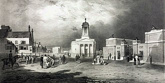 Beresford Square - Image: Woolwich, Beresford Square, c 1835