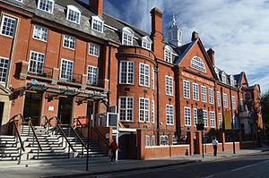 Working Men's College - Image: Working Men's College main building