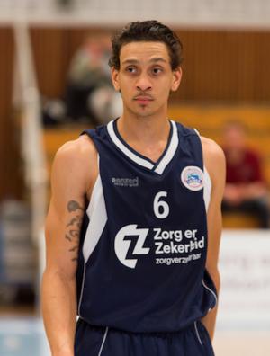 Worthy de Jong - De Jong playing for ZZ Leiden in 2016