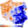 Wybory prezydenckie 2015 II tura mapa.png