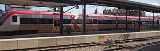 Regina (train) - Image: X Tåget på Gävle Centralstation 2005 05 14