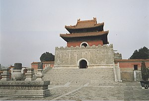Western Qing tombs - One of the tombs