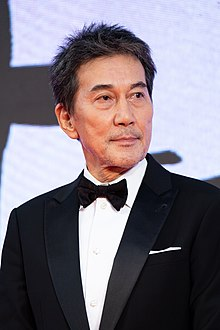 "Yakusho Koji from ""Wings Over Everest"" at Opening Ceremony of the Tokyo International Film Festival 2019 (49013110703).jpg"
