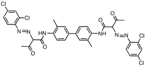 Tolidine - Pigment Yellow 16, a derivative of o-tolidine