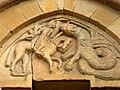Yermo église Santa Maria corniche S modillon 45a.jpg